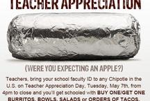 Teacher Appreciation Specials