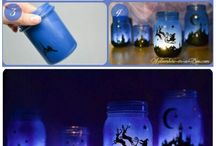 Xmas jam jar lights