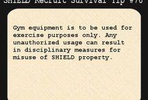 SHIELD recruit survival tips