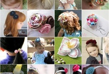 hair bows and girly stuff / by Teri Bourdages