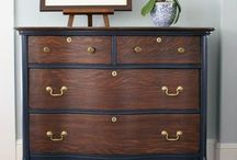 hand painted dressers, chest of drawers