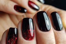 черные ногти