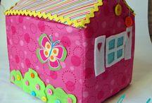 Doll house DIY