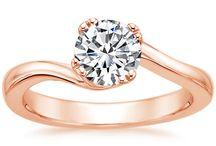 Engagement & Wedding rings <3