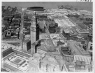 Cleveland from the Sky / Vintage Aerial Shots of Cleveland