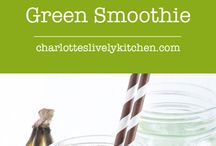 Smoothies and home made juices.