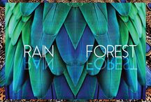 Rain Forest Collection / Latest collection by Nefelia Architectural Fashion. Illustrations by Pinknanami.