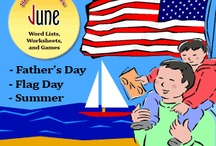 June Educational Ideas / Educational ideas related to the month of June.   #gbl #k12 #literacy