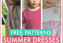 Sew patterns for kids / Clothes, pattern design etc. for kids