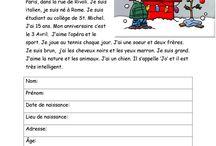 Ficha de francés