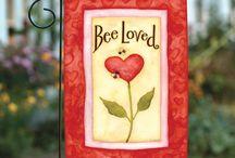 Toland Valentine's Day Flags