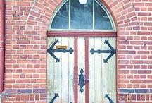 Doors / Türen / by LeNi Farbenfroh