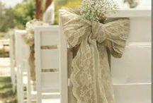wedding chair backs