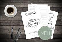 Lettering & bullet journal