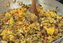 Receitas culinária farofas