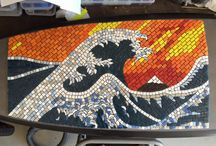 Recent mosaic work / My continually evolving art