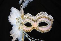 Masks / Beautiful masks for doll costume ideas