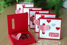 DIY Valentin / Ideen rund um Valentin zum DIY Basteln, Karten, Verpackungen, Geschenke
