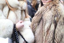 fox&raccoon&coyot fur coat