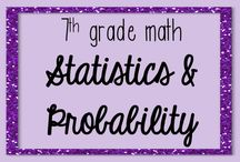 7th Grade Math Statistics and Probability / This board is dedicated to pins related to The Statistics and Probability Domain of 7th Grade Math! Email me at jessicabarnettresources@gmail.com if you would like to become a collaborator on this board!