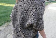 Crochet sweaters and shrugs / by Maggi Thrasher Burns