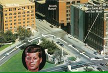 JFK Assassination Postcards / Commemorative postcards showing Dealey Plaza in Dallas. www.pinkpillbox.com