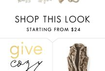 Give Cozy / Gift perfect for a cozy night in, or out! / by maurices