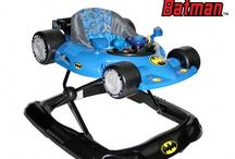 KidsEmbrace Walkers / Make learning to walk fun and exciting for your little one with the Baby Batman Walker by KidsEmbrace. The colorful design, working steering wheel, and engaging sounds make it a stimulating ride. It's durably made, easy to navigate, and built for comfort.