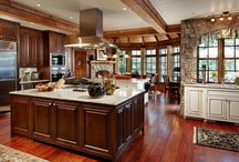KITCHENS / KITCHEN IDEAS AND DREAM KITCHENS