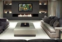 Muebles living tv