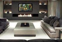 Muebles living tv