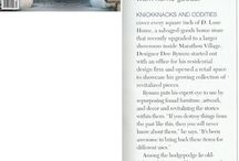 As Seen In / Press for Bynum Design and D. Luxe Home in Nashville, TN
