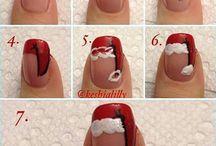 Festive Nail Art / 12 Days till Christmas