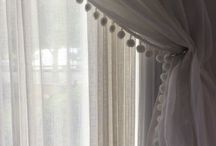 Details of curtains