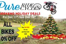 #PUREHOLIDAY / All about the holidays at Pure Ride