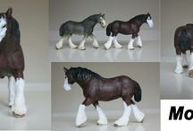 schleich repaints made by me / This are the schleich which are repaint by me