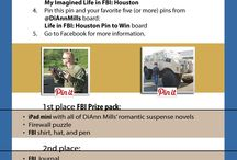My Imagined Life in FBI: Houston / DiAnn Mills and her suspense books / by Tara Woods