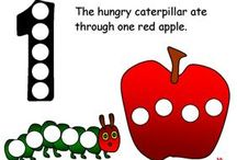 The Very Hungry Caterpillar Early Learning Ideas / by Jo Kramer