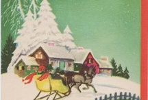 vintage christmas cards / by Jenny Rubart