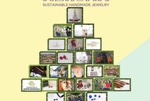 Calendario de Navidad de los valores Sostenibles / En este tablero tendremos 24 valores sostenibles aplicados a la moda y a la joyería, donde cada día conoceremos un valor nuevo. ¡No te lo pierdas!