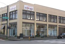 Our Rucker Facility / This heated building provides quick and easy access to and from the Everett waterfront. Drive right into our historic building from Rucker Ave or the alley for easy loading. And we offer 24/7 Private Mailbox Rentals and package delivery acceptance too!