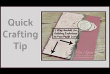 Stampin' Up! Technique Ideas