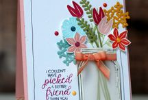Beautiful Bouquet / Stampin' Up! Beautiful Bouquet Stamp Set, Boeket vol goede wensen Stempelset, Bouquet Bunch Framelits Dies