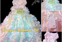 Gala dress for pet