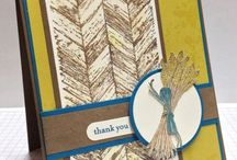 Stampin' Up!-Thanksgiving Cards / This board may contain cards that use retired Stampin' Up! product.