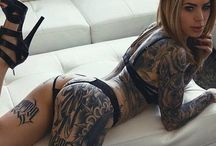 Sexiest Female Tattoos / Welcome to a very tantalising collection of women showing off their Tattitude. *** This board is retired and will NOT be posted to any longer **