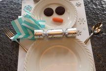 Natale - tavola dei bambini / Christmas Kids Table
