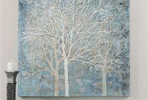 Картины, роспись в интерьере
