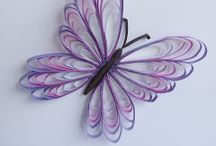 quilling motyle