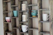 Mug Rack Shelf
